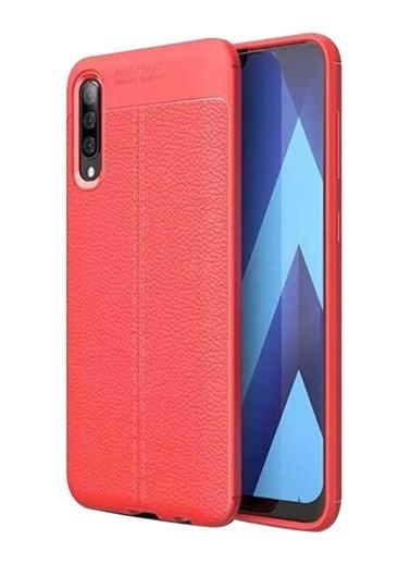 MobilCadde Dafoni Liquid Shield Premium Huawei P Smart S Kırmızı Silikon Kılıf Renkli